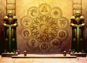 Ravnica-Guilds-art